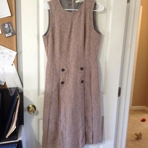 Fossil Sz 10 EUC Pink Mid-Length Dresss